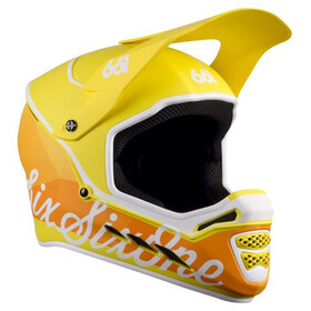 SixSixOne Reset Full-Face Helm geo citrus